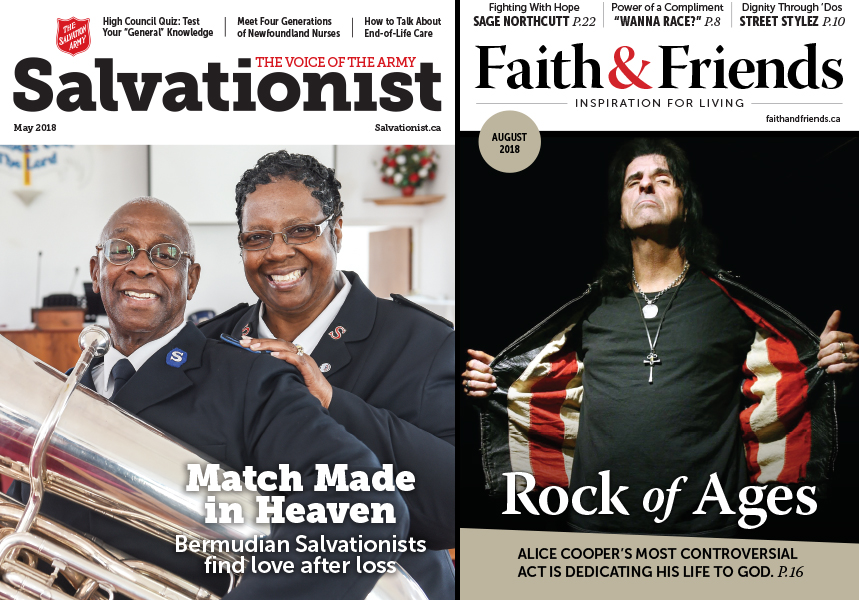 Salvation Army Wins 21 Awards from Church Press