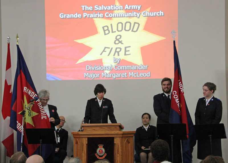 Grande Prairie Salvation Army Celebrates 100 Years