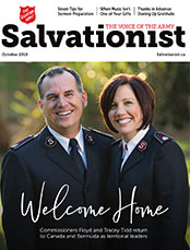 November Salvationist Magazine