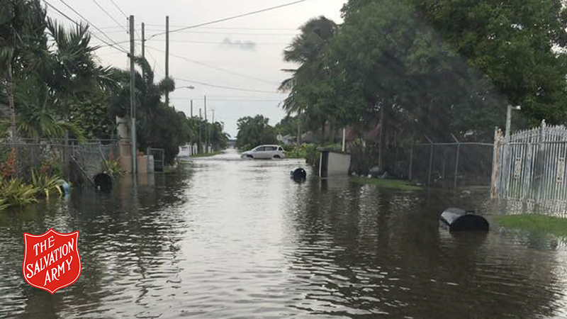 The Salvation Army Responds as Hurricane Dorian Hits