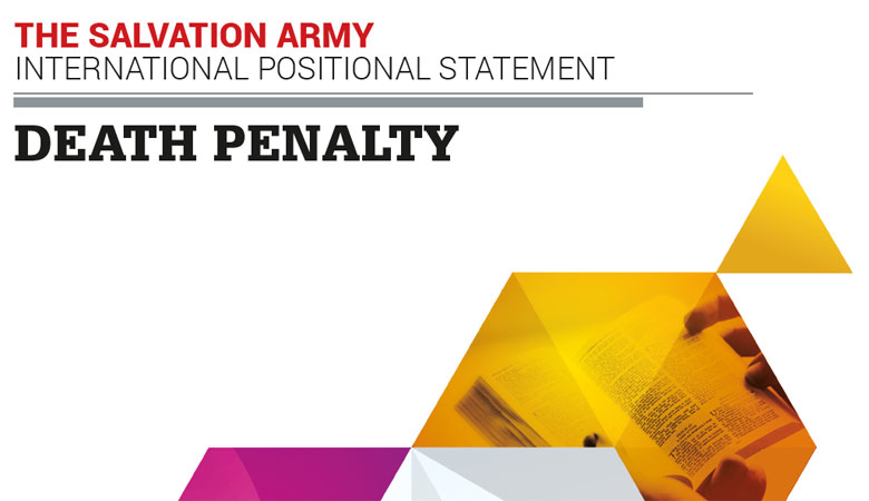 New International Positional Statement Calls for an End to the Death Penalty