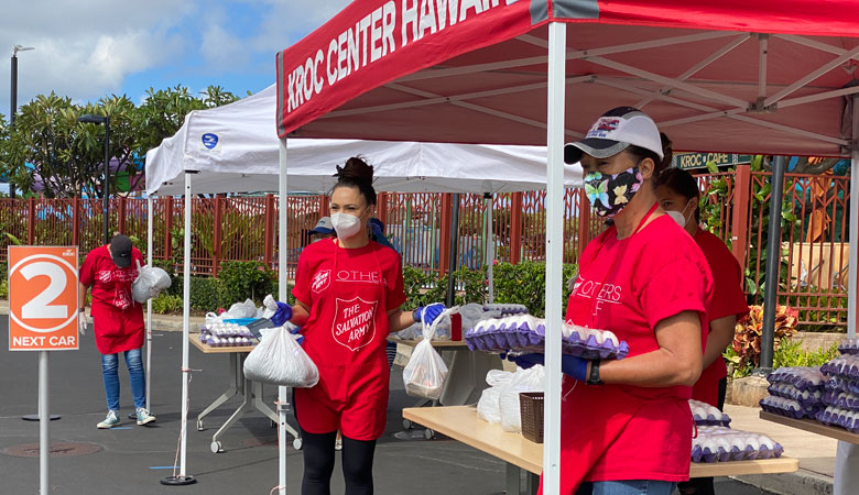Volunteers Making a Difference in Worldwide Salvation Army COVID-19 Response