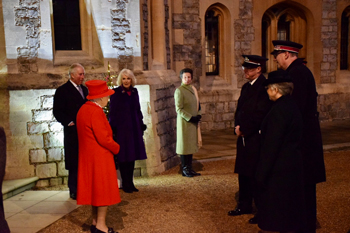 Her Majesty The Queen thanks Salvation Army Officers