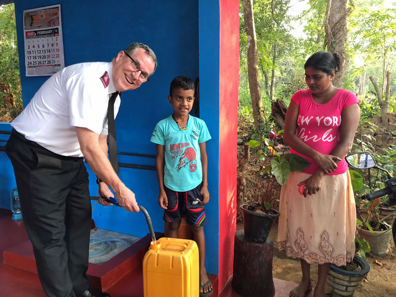 Sri Lanka Safe Water Project Complete