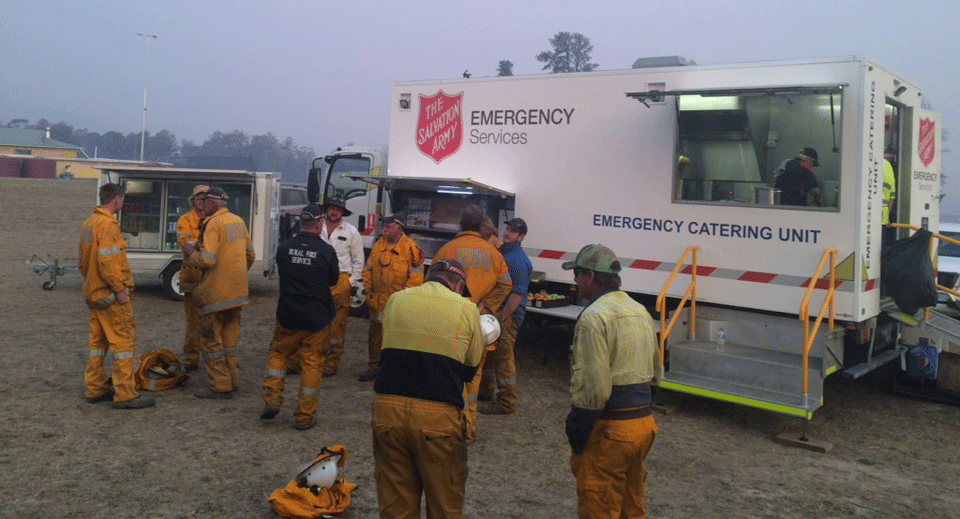 Salvation Army Accepts Donations for Australia as Bushfires Escalate