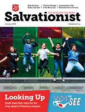 Cover of January 2020 issue of Salvationist