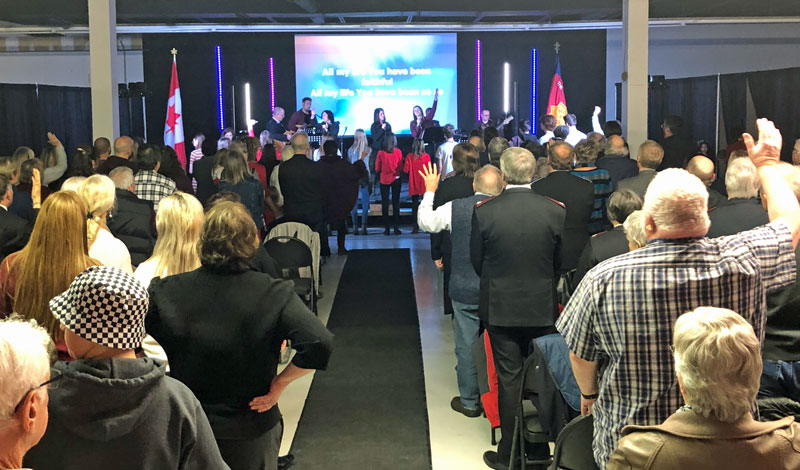 Kemptville Corps Holds Grand Re-opening