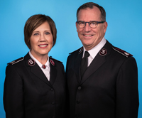 Photo of Commissioners Tracey and Floyd Tidd