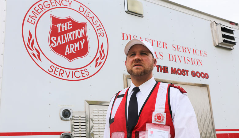 The Salvation Army Responds in Texas as Hurricane Hanna Strikes