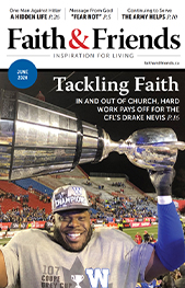 Cover of June 2020 issue of Faith & Friends