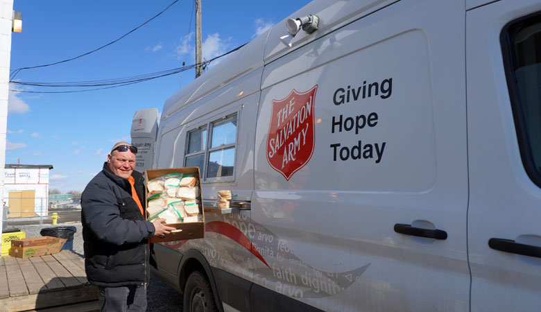 Serving Soup, Compassion and Hope, in Thunder Bay