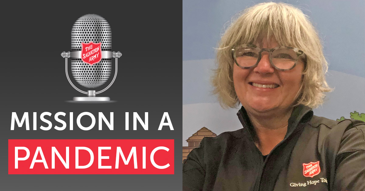 Mission in a Pandemic Podcast with Claire Dunmore, Territorial Integrated Mission Secretary