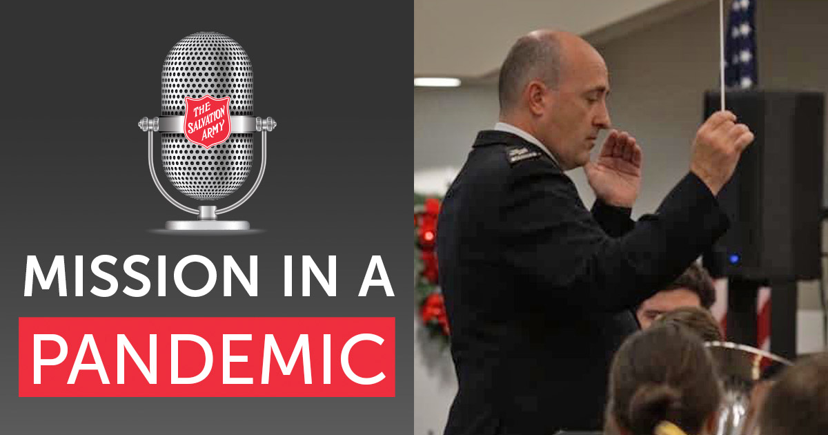 Mission in a Pandemic Podcast with Craig Lewis, Territorial Secretary for Music and Gospel Arts