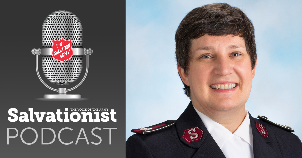 Salvationist Podcast: New Chief Secretary Colonel Evie Diaz