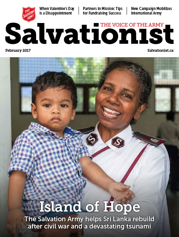 Salvationist Magazine February 2017 issue cover