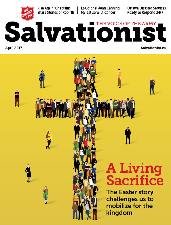 Salvationist Magazine April 2017 issue cover