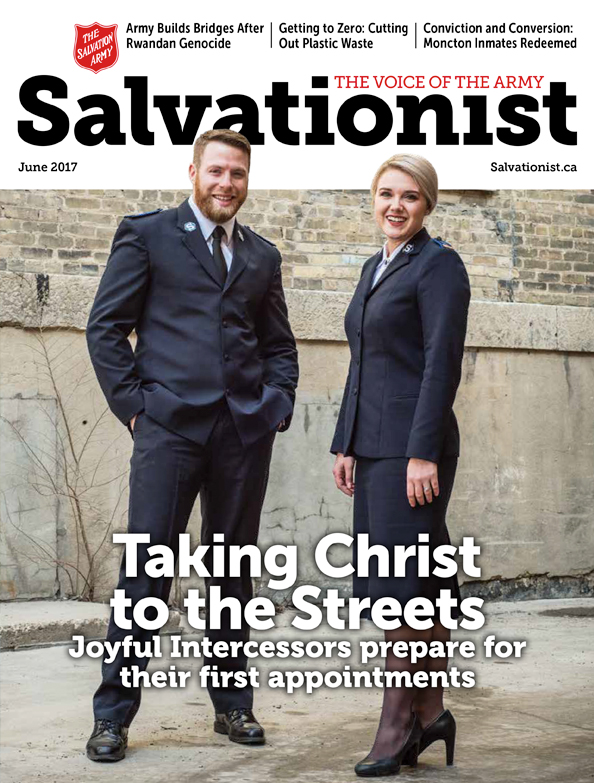 Salvationist Magazine May 2017 issue cover