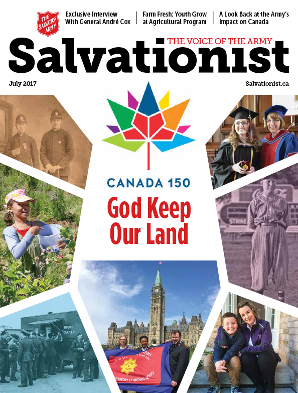 Salvationist Magazine July 2017 issue cover