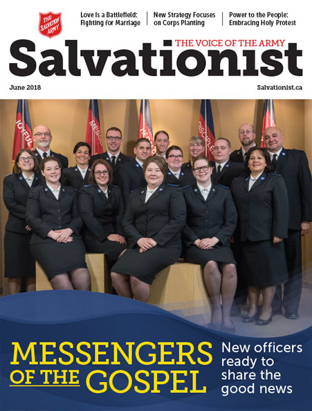 Salvationist Magazine June 2018 issue cover