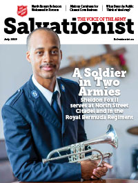 Salvationist Cover August 2019