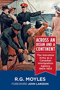 Cover of Across an Ocean and a Continent by R.G. Moyles