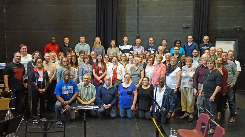 Delegates from across the territory participate in Canada and Bermuda's first adult music camp