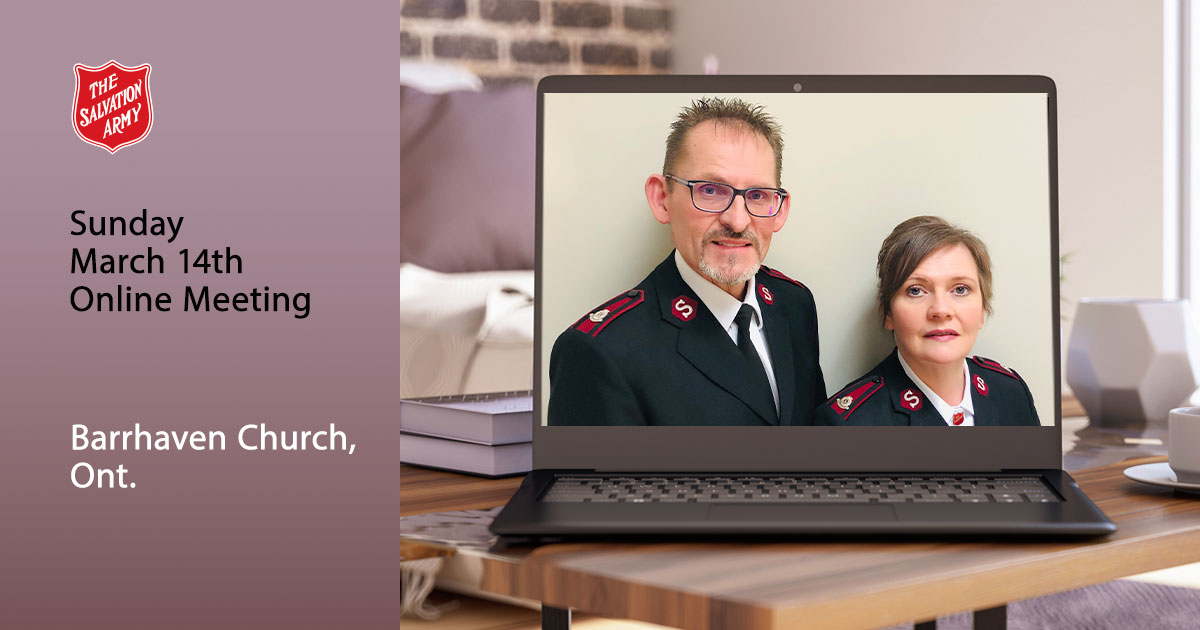 Sunday March 14 Online Worship Service, Barrhaven Church Ont.
