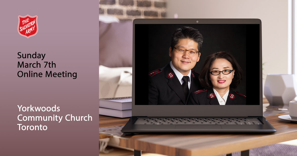 Sunday March 7 Online Worship Service, Yorkwoods Community Church Toronto