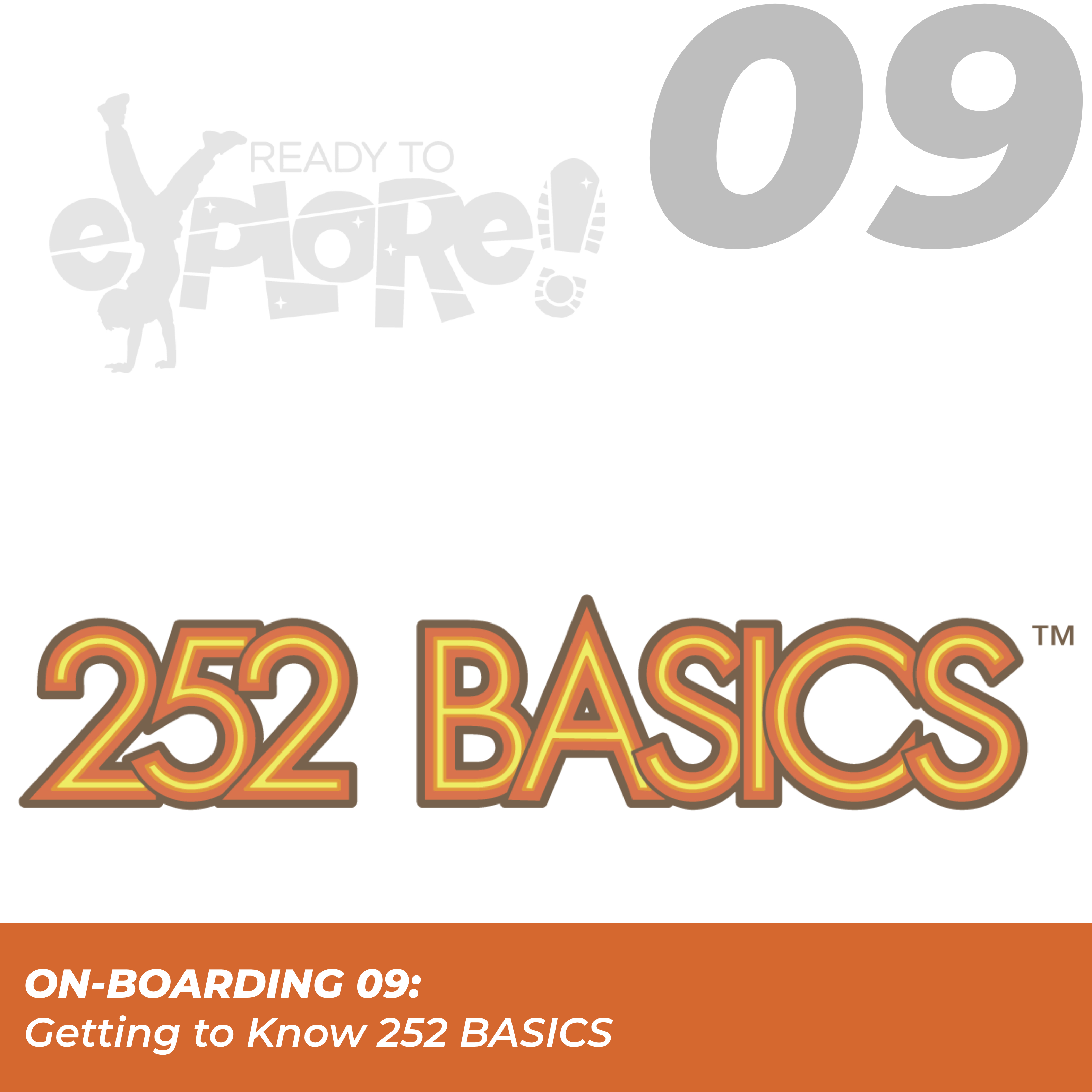 Click here for On-boarding 09: Getting to know 252 Basics