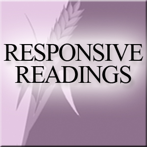 Responsive Readings