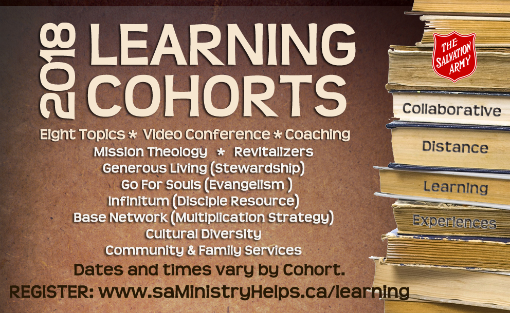 Learning Cohorts - 8 Topics