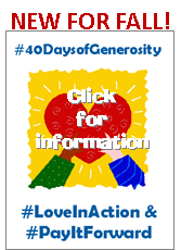 40 Days of Generosity