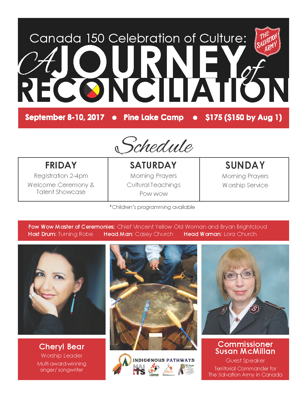 A Journey of Reconciliation Event Poster