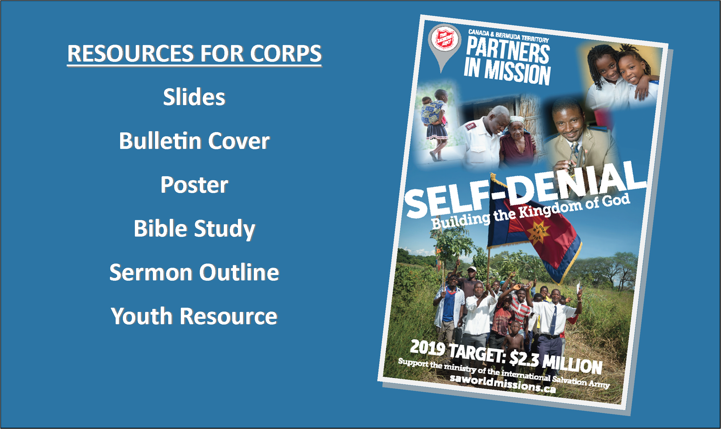 2019 Partners In Mission Resources