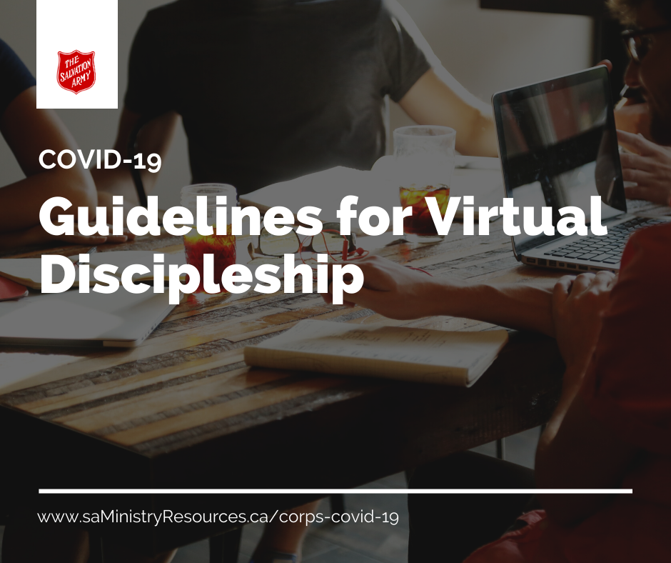 Guidelines for Virtual Discipleship