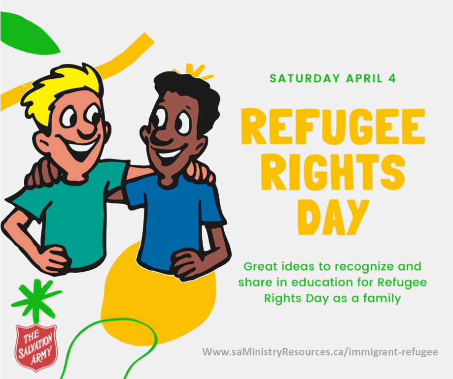 Refugee Rights Day - April 4