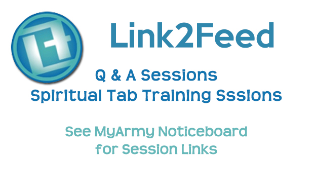 Link2Feed Q & A, Spiritual Tab Training