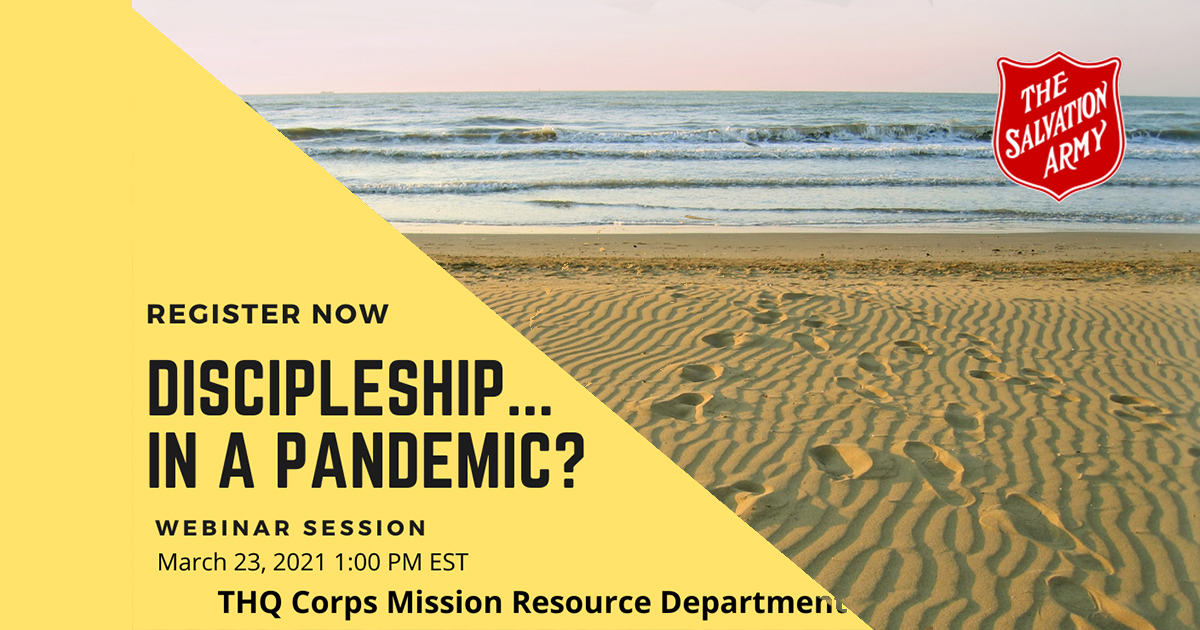 Discipleship...in a pandemic?