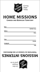 Home Missions Envelope