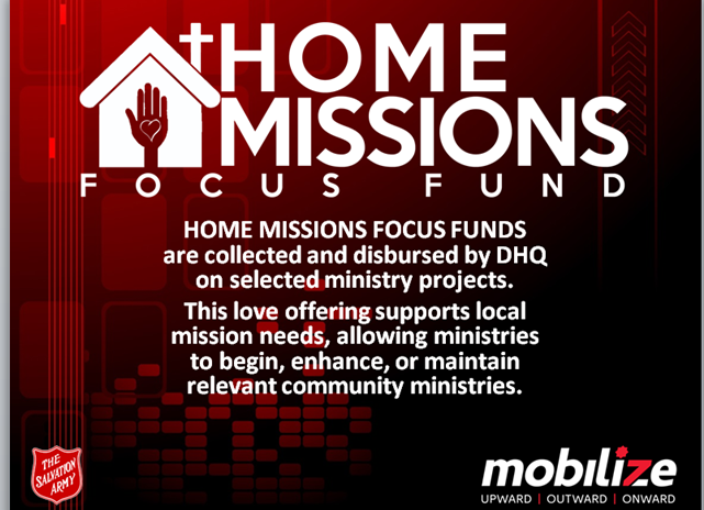 Home Missions slide sample