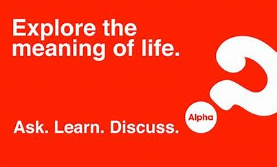 Alpha : explor the meaning of life graphic