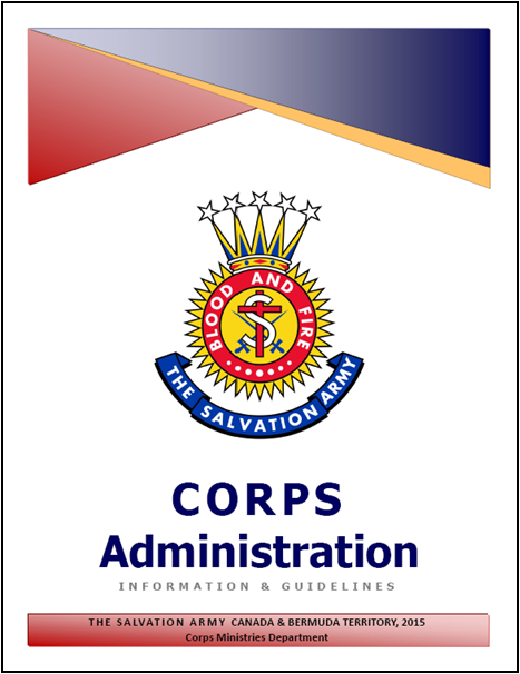 Corps Administration Document