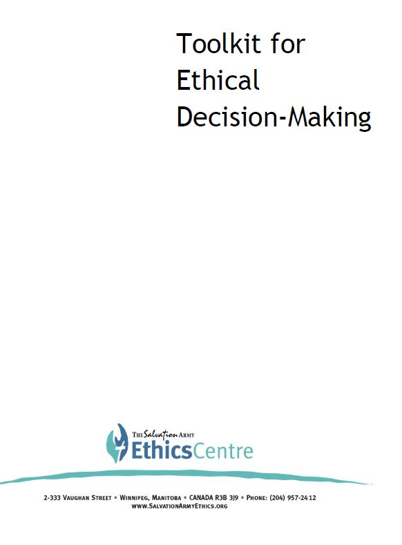 Toolkit for Ethical Decision-Making Cover
