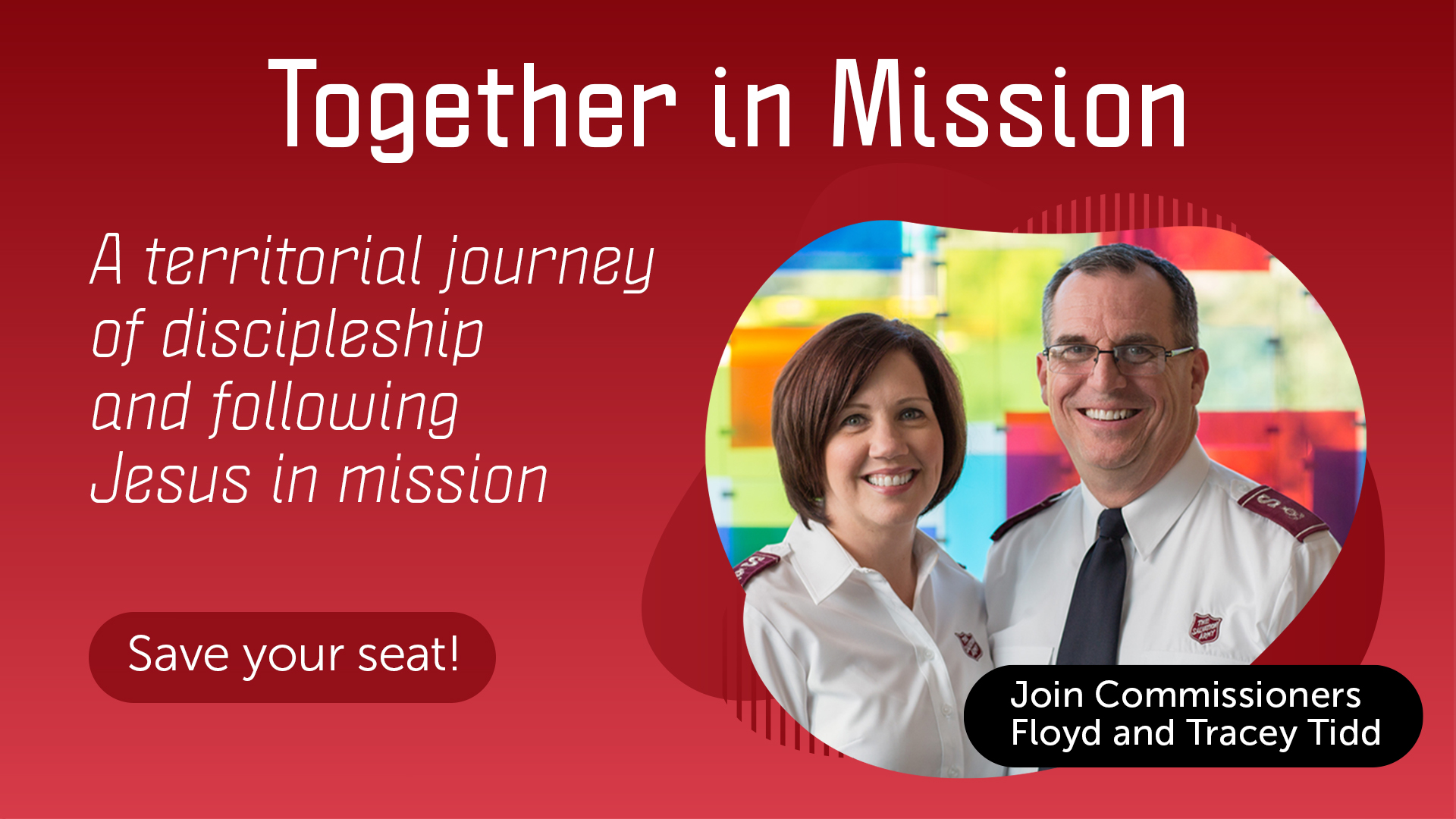 Together in Mission  A territorial journey of discipleship and following Jesus in mission, join today