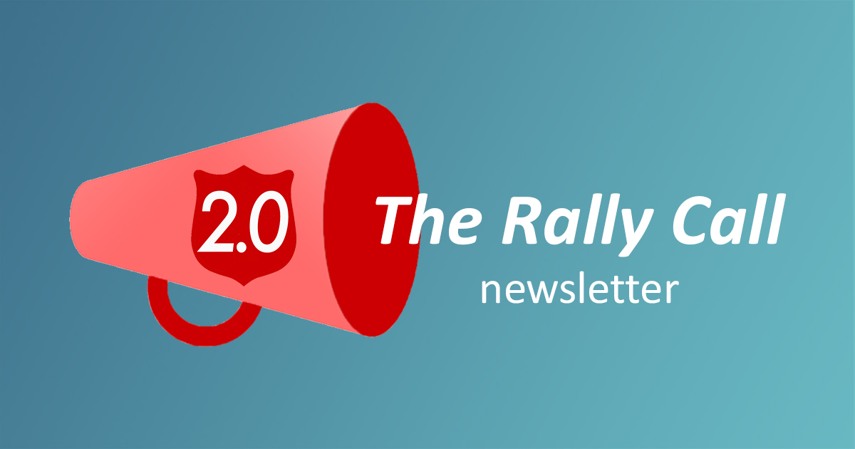 Rally Call Newsletter Graphic