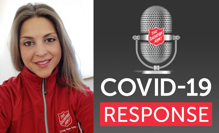 COVID-19 Response Podcast with Guest Alice Johansson