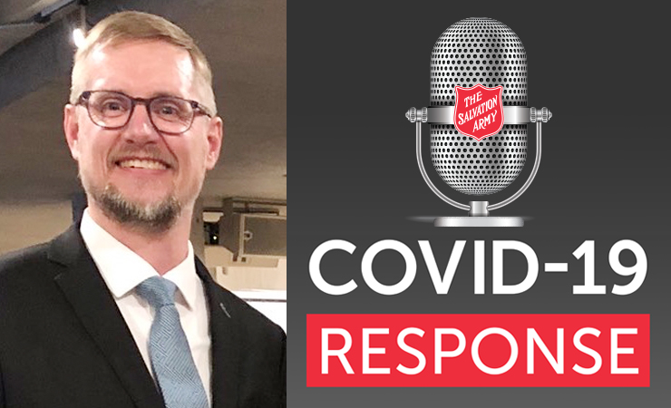 COVID-19 Response Podcast with Guest Perron Goodyear