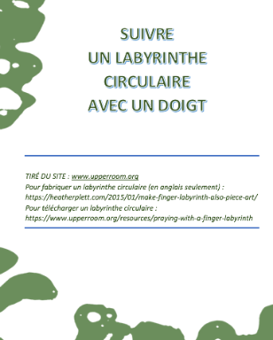 Finger Labyrinth ((French)