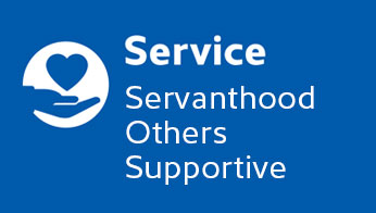 Service: Servanthood, Others, Supportive