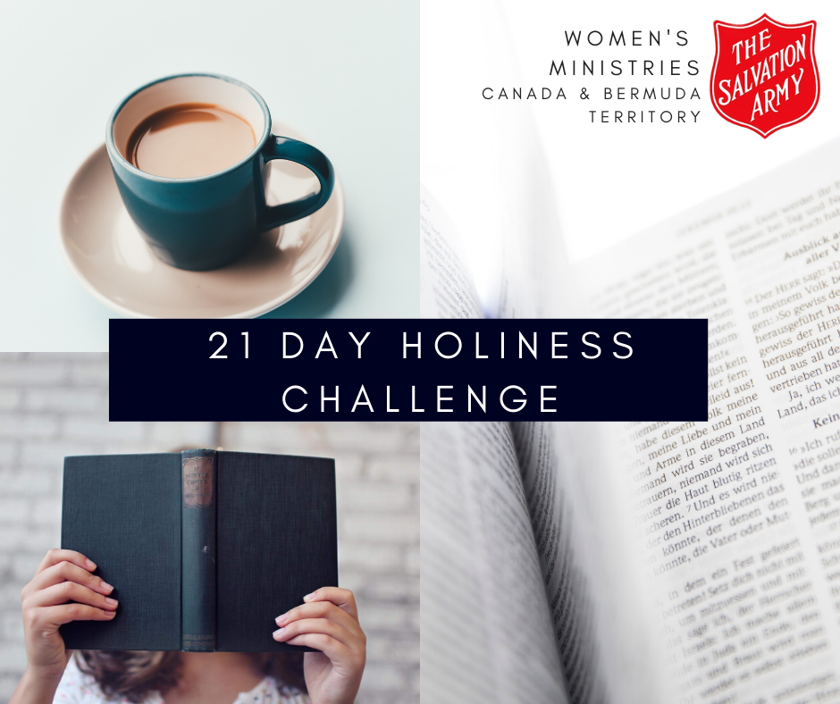 21 Day Holiness Week Challenge Graphic